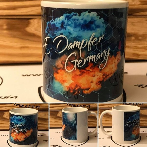 E-Dampfer Germany Tasse